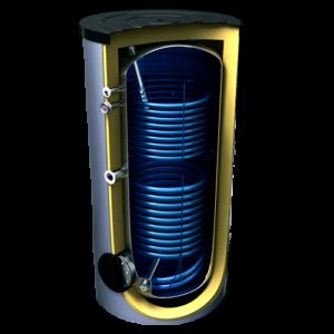 Бойлер для горячей воды с 2 теплообменниками Tesy 500л