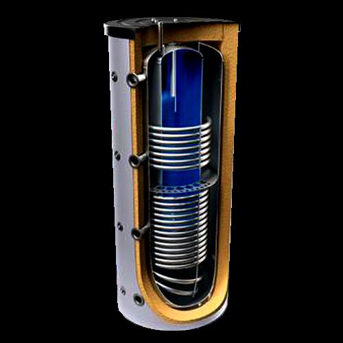 Комбинированный бойлер Tesy 1000 200 с двумя теплообменниками