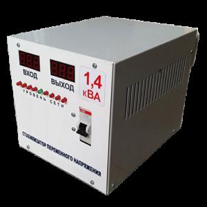 Однофазный стабилизатор напряжения 1,4 кВт
