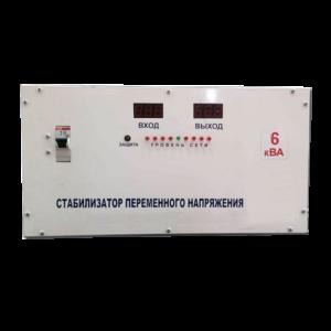 Однофазный стабилизатор напряжения 6 кВт