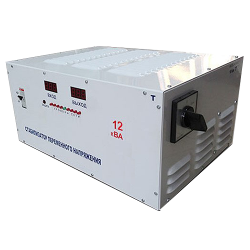Однофазный стабилизатор напряжения 12 кВт