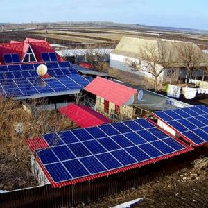 Гибридная солнечная электростанция 30 кВт