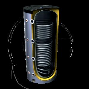 буферная емкость с двумя теплообменниками Tesy 500л